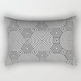 Op Art 11 Rectangular Pillow