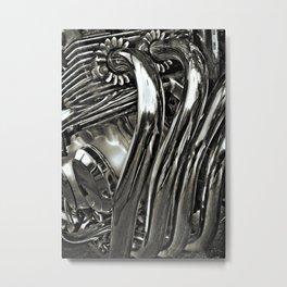 Shiny Pipes! Metal Print