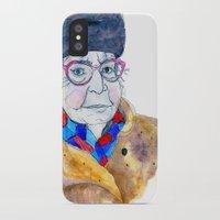 soviet iPhone & iPod Cases featuring Soviet babushka by Miurita