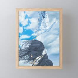 Taking flight Framed Mini Art Print