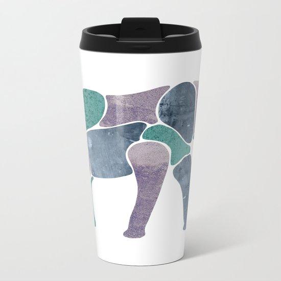 King Elephant Metal Travel Mug