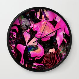 girl #22 Wall Clock