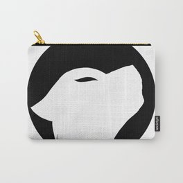 Wolf silhouette Carry-All Pouch