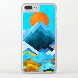Ocean Peaks Clear iPhone Case