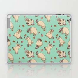 Raccoons Love Laptop & iPad Skin