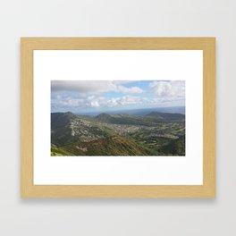 KOKO Hiking Trail  Framed Art Print