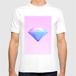 Crystallographic defects in diamond T-shirt