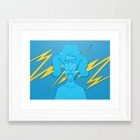 zappa Framed Art Prints featuring Zappa by freefallflow