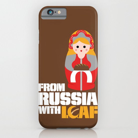 from Russia with loaf iPhone & iPod Case