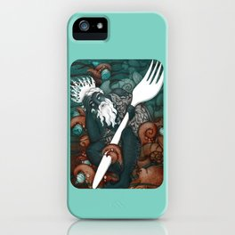 Plastic Pollution in the Ocean iPhone Case