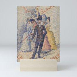 The Ladies' Man Mini Art Print