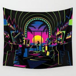 Arcade Saloon Wall Tapestry