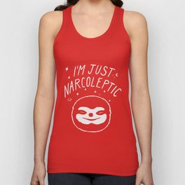 I'm Just Narcoleptic (Dark) Unisex Tank Top