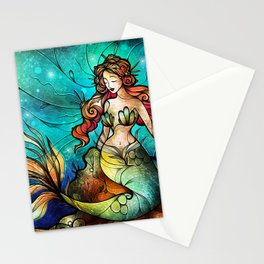 The Serene Siren Stationery Cards