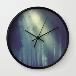 Smell the wild air Wall Clock