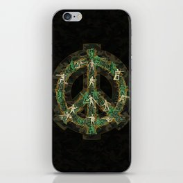Peace Keepers iPhone Skin