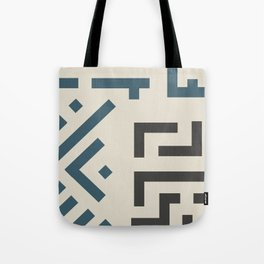 African Tribal Pattern No. 58 Tote Bag