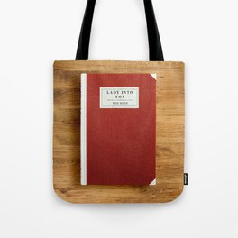 Lady into Fox Book Tote Bag