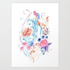 a hopeless romantic Art Print