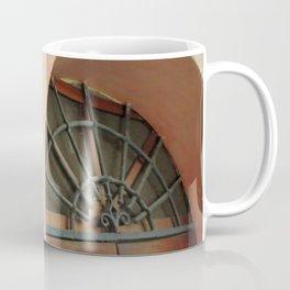 13 - Wrought Iron Door Coffee Mug