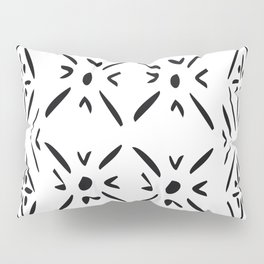 Graphic X's Pillow Sham