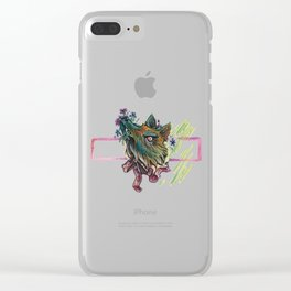 Ladylike Clear iPhone Case
