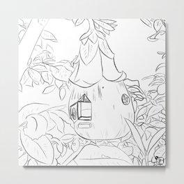 Fairy House Metal Print