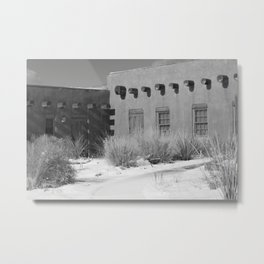 Southwest Snow Metal Print