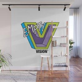Empty V (purple) Wall Mural