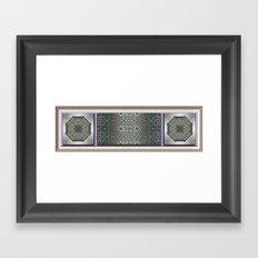 Moonlight Mile Framed Art Print