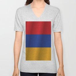 Flag of Armenia Unisex V-Neck