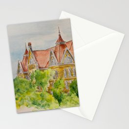 Texas State (SWT) University Old Main Building, San Marcos, TX Stationery Cards