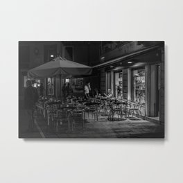 Goppion Caffe, Venice, Italy Metal Print