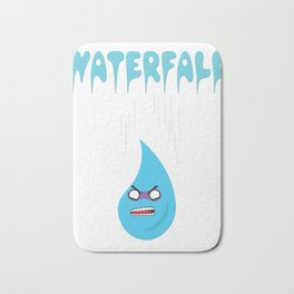 """Check out this funny graphic tee """"WATERFALL"""" great gift for everyone show it to your friends for fun Bath Mat"""