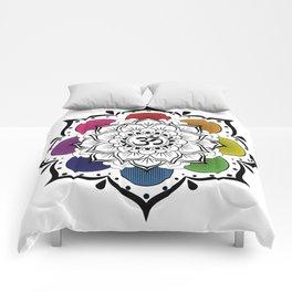 Om Mandala Comforters