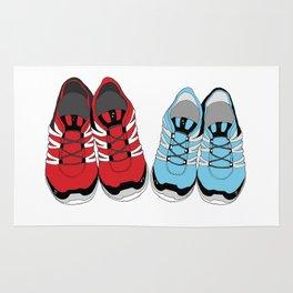 Sporty Shoe Love Rug