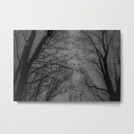 Tree of black Metal Print