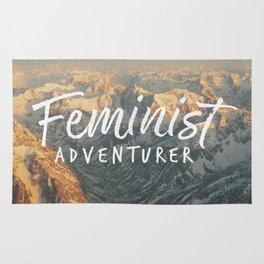 Feminist Adventurer Rug