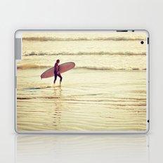 Golden Surf Laptop & iPad Skin
