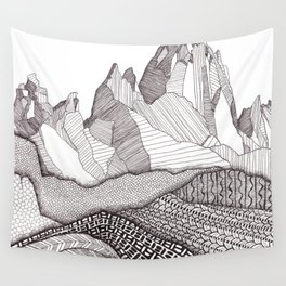Patterns on Patagonia Wall Tapestry