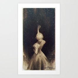 The Old Astronomer  Art Print