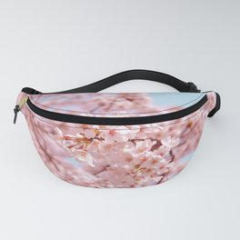 Beautiful Pink Floral Fanny Pack