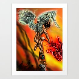 Blast in Heaven Art Print
