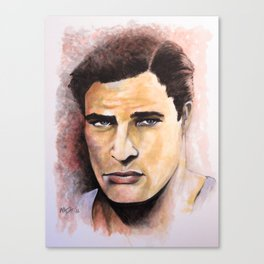 Coulda' Been A Contender - Brando Canvas Print