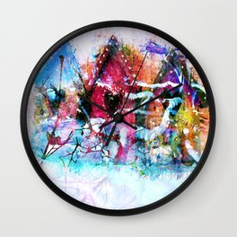 A Home For All Seasons Wall Clock