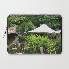 Fruit Stand in Tropical French Polynesia Laptop Sleeve