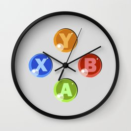XBOX 360 Buttons Wall Clock