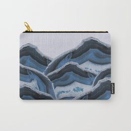 Agate Blue Mountains Carry-All Pouch