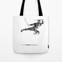 Ninja Warrior Fighting Martial Arts Training Black Tote Bag