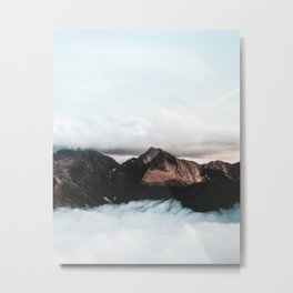 Mountains In The Sky Metal Print